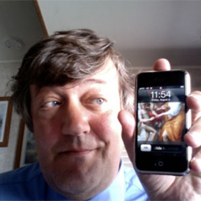 stephen-fry-and-iphone