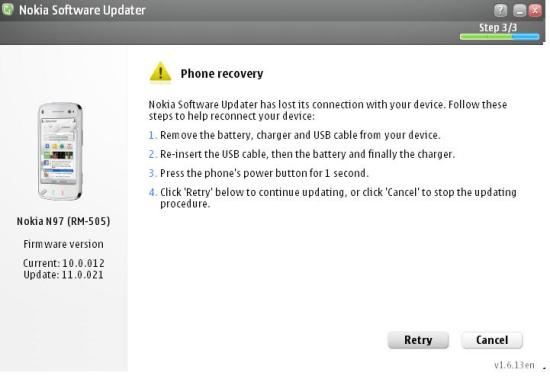 Nokia N97 Firmware Update V11 0 021 available  : My Nokia