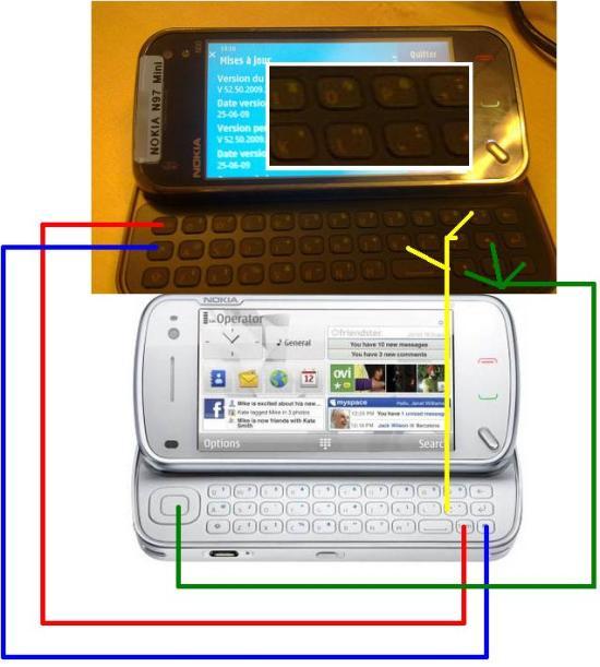 N97i keyboard