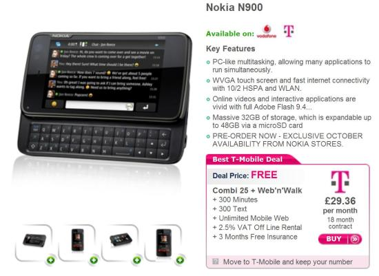 N900 CONTRACT