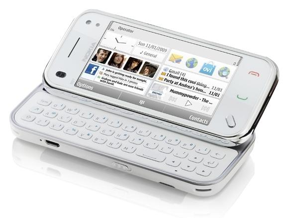 N97mini white 3-4Popup Square