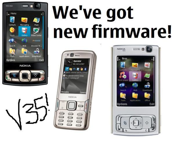 firmware - Nokias N95, N95 8GB e N82: Nova atualização