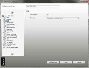 Screenshot of Configuration Tool 5