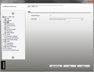 Screenshot of Configuration Tool 5