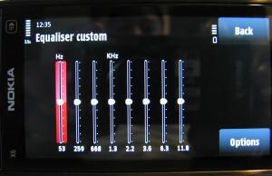 X6 Music - Equaliser