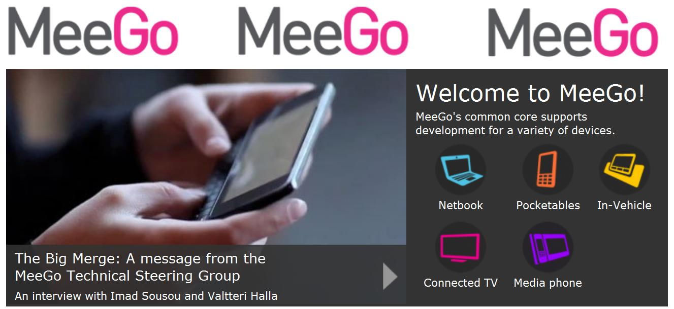 MeeGo gets much love and public support from the likes of Acer, Asus, BMW, EA Mobile, Gameloft and Cisco.