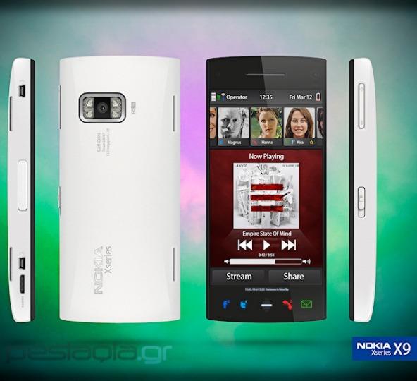 nokia x9 concept 01 - Conceito: celular Nokia X9