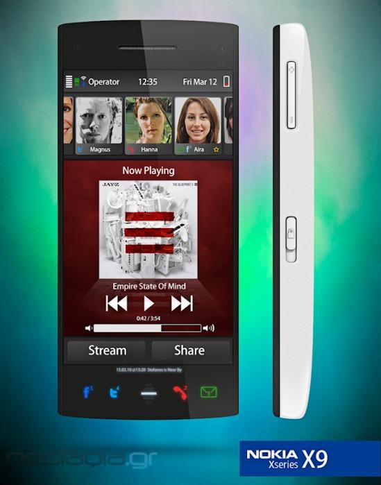 nokia x9 concept 02 - Conceito: celular Nokia X9