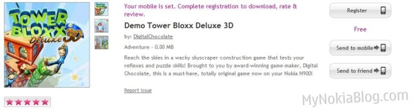 405255df3 NEW TODAY! TowerBloxx Delux 3D available for the Nokia N900 (Maemo 5 ...